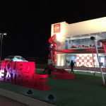Nissan live exhibit at Olympic Park
