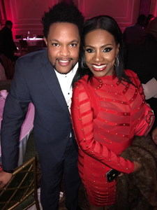 Jawn Murray & actress Sheryl Lee Ralph