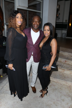 Tami Roman, Jeff Friday & Lisa Wu (Photo courtesy of TV One by John Parra)