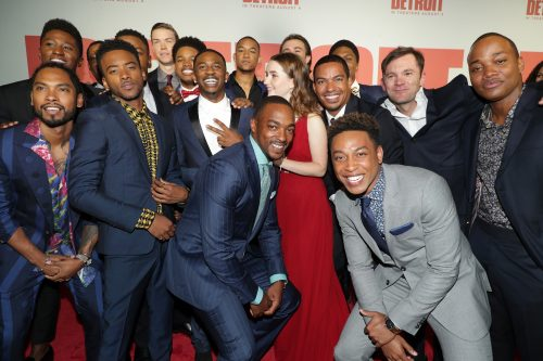 Miguel, Joseph David-Jones, Tyler James Williams, Algee Smith, John Boyega, Will Poulter, Nathan Davis Jr., Malcolm David Kelley, Peyton 'Alex' Smith, Anthony Mackie, Kaitlyn Dever, Laz Alonso, Ben O'Toole, Jacob Latimore, Austin Hebert, Leon Thomas III