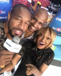 Tank, Cayman Kelly & Michel Wright at the Ford booth