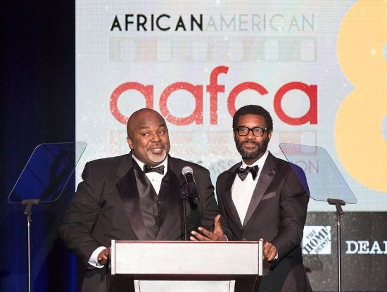 AAFCA co-founders Gil Robertson & Shawn Edwards
