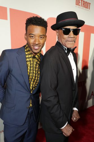 Algee Smith & Larry Reed
