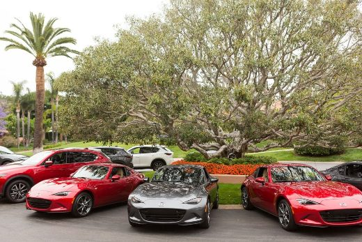 MX-5 Mazda Miata RF's at the Rancho Valencia Resort in Rancho Valencia