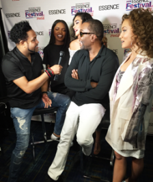 """Jawn Murray interviews Lee Daniels and the cast of """"Star"""" at Essence Festival"""